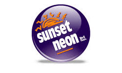 Sunset Neon Logo